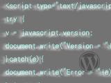 個別記事にJavaScriptを挿入するプラグイン[WP]