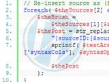 記事にコードを色分けして表示するプラグイン[WP]