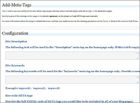 addmetatags管理画面