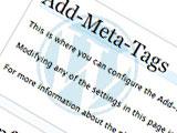 METAを記事毎に編集できるプラグイン[WP]